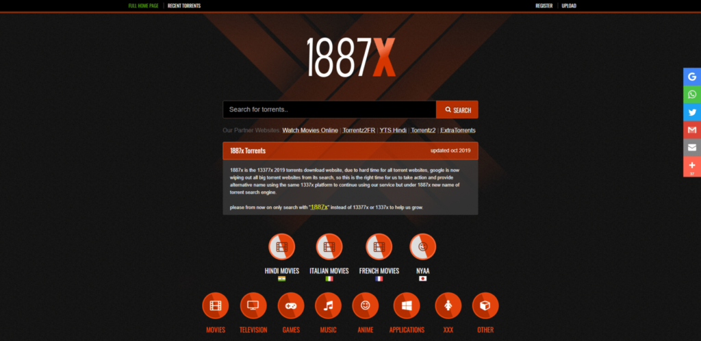 13377x homepage download hd movies