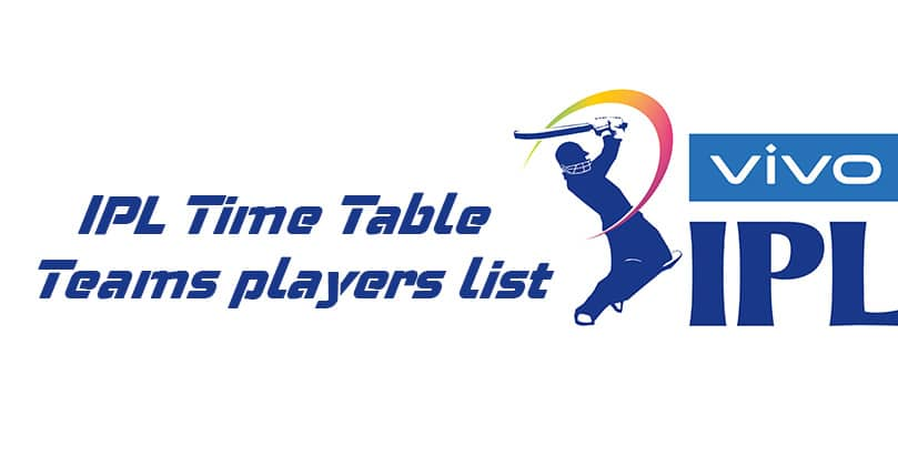 IPL-Time-Table
