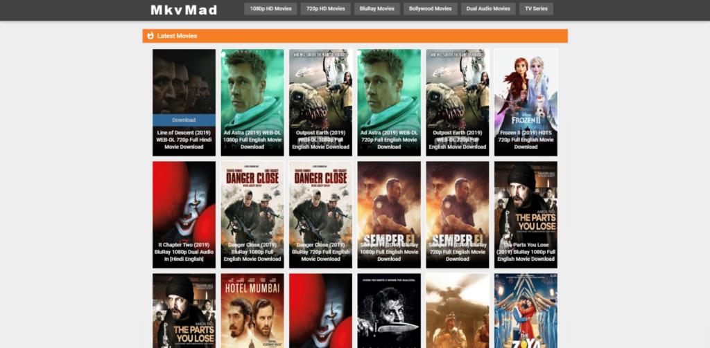mkv movies homepage