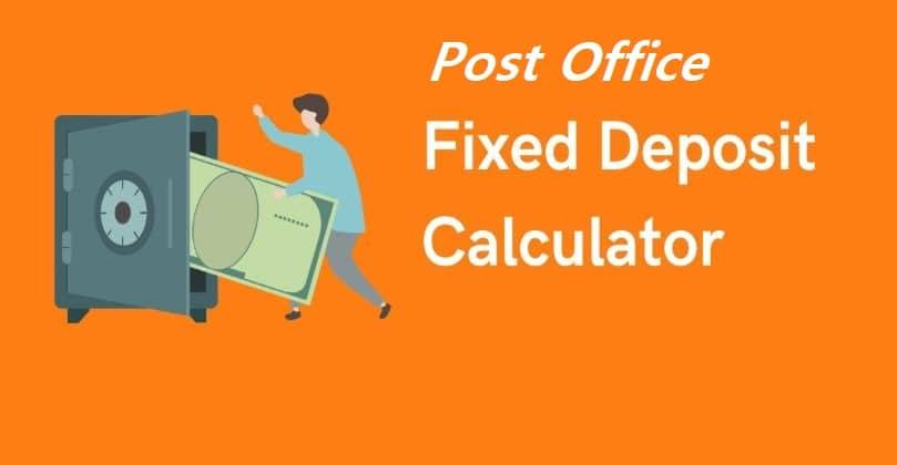 Post Office Fixed Deposit(FD) Interest Rates 2020 schemes