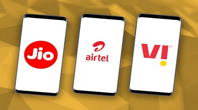 Airtel, Jio, Vi Prepaid Plans