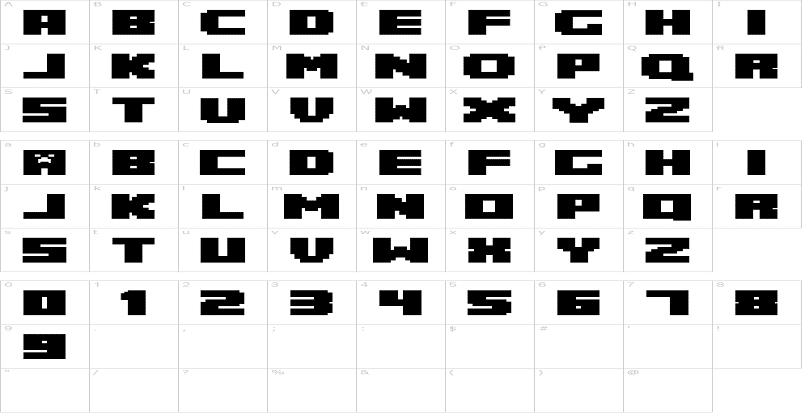 Minecraft Font Family - Download Free for Desktop & Webfont
