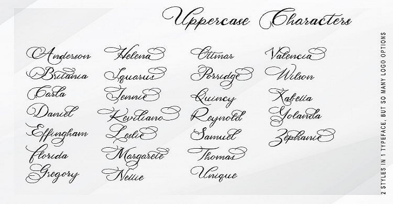 Calligraphy Fonts - Calligraphy Font Generator Free Download