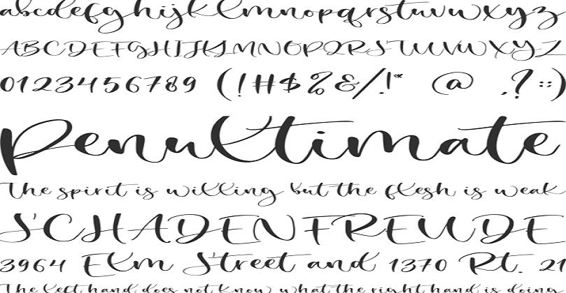 Secret Winter Font Free Download