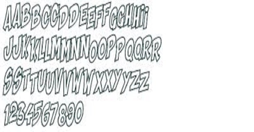 Shaka Pow Font Free Download