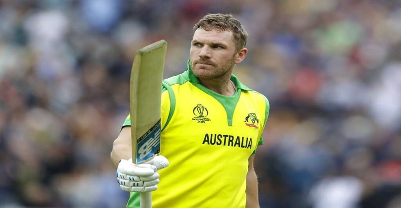 Aaron Finch becomes first Australian to hit 100 sixes in T20Is