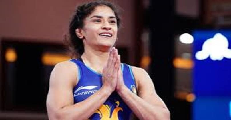 Vinesh Phogat beats Vanesa Kaladzinskaya to win gold in Ukraine wrestling event