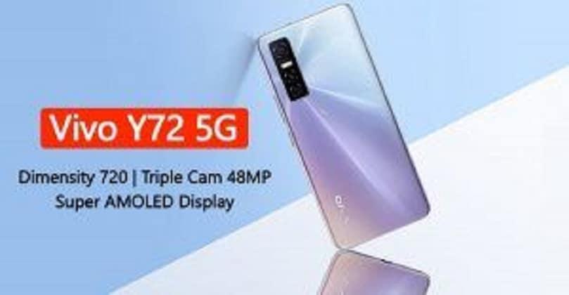 Vivo Y72 5G launched with Dimensity 700 SoC, 64MP camera | Vivo y72 price in India