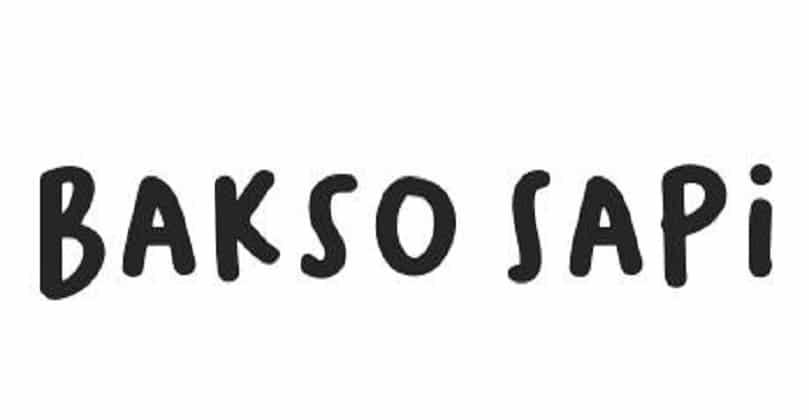 Bakso Sapi - Font Family (Typeface) Free Download