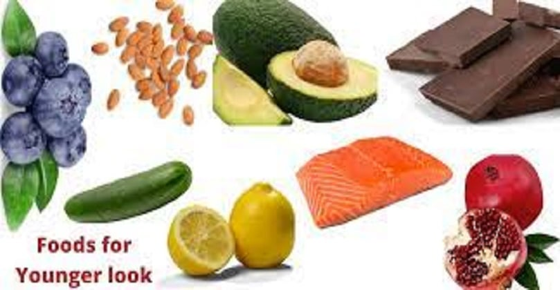 Foods that make you look younger and beautiful