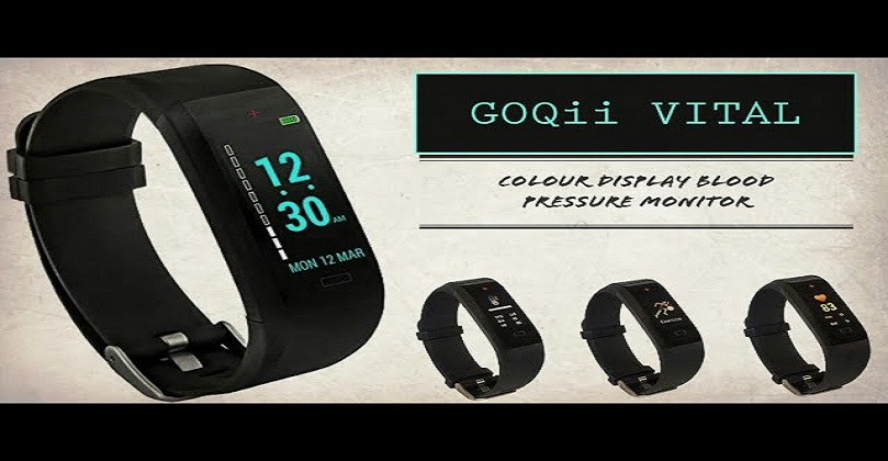 GOQii launches Vital 4 fitness tracker with a blood oxygen monitor