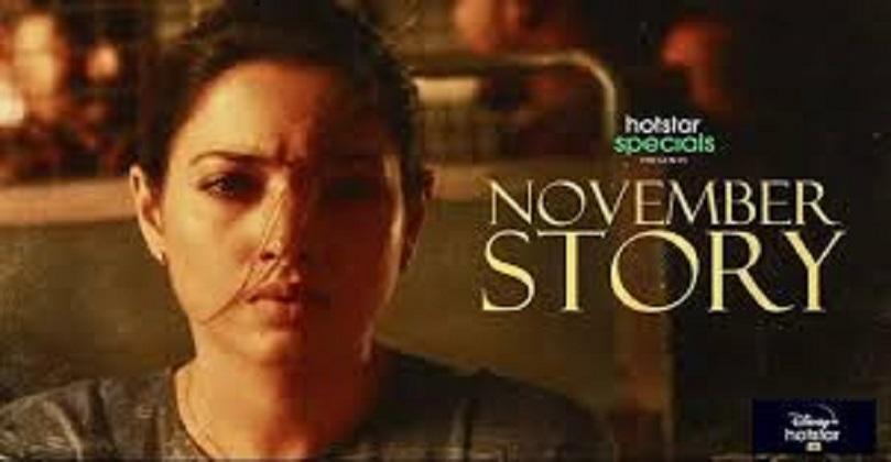November Story Web Series Downlaod